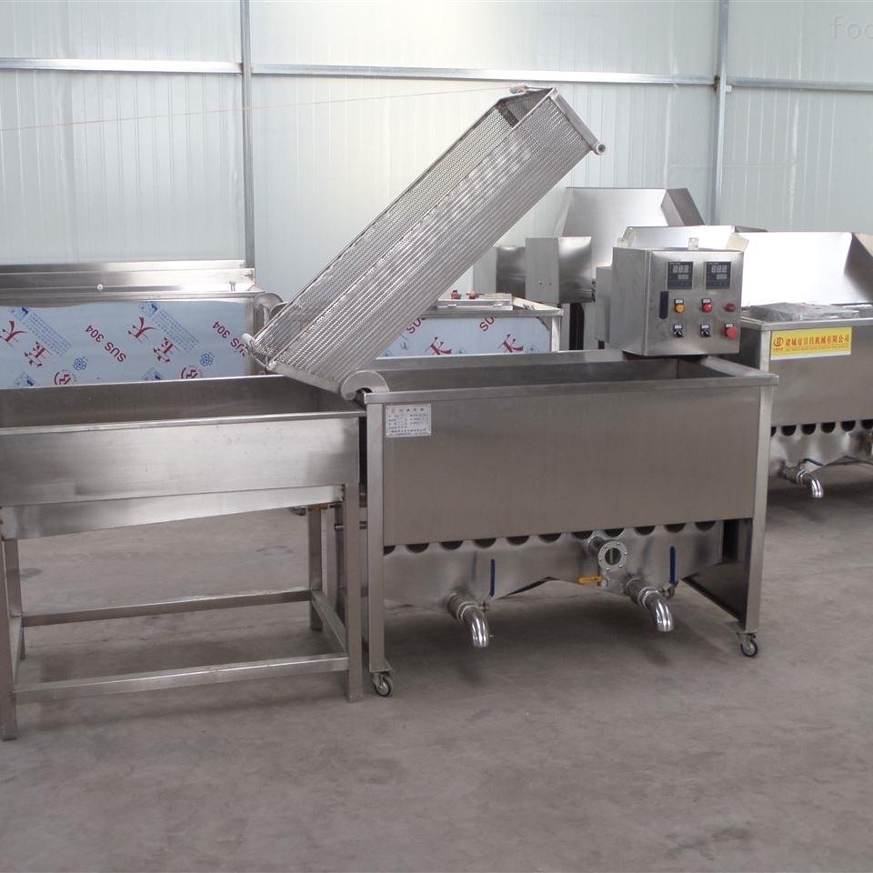 全自动高效蚕豆油炸机/油炸花生米设备