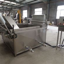 S3米--大型商用油炸锅长方形自动出料