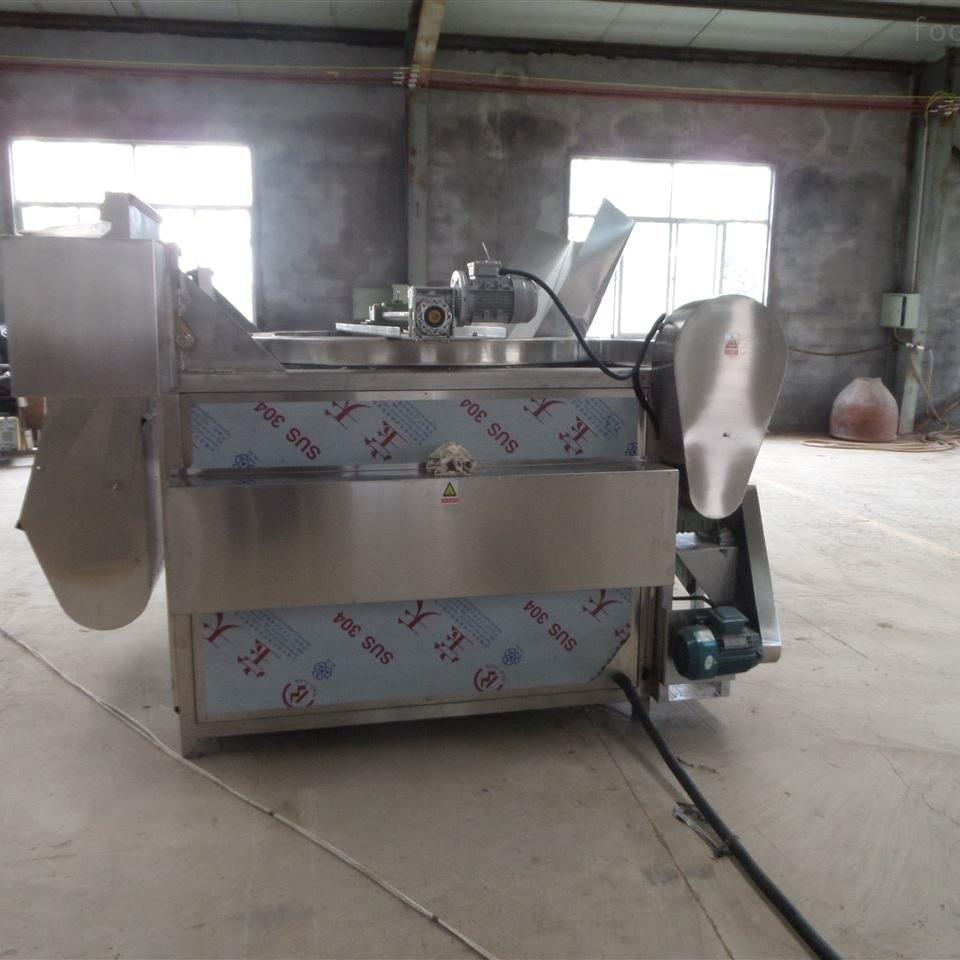 大型不锈钢全自动控温猪皮油炸机