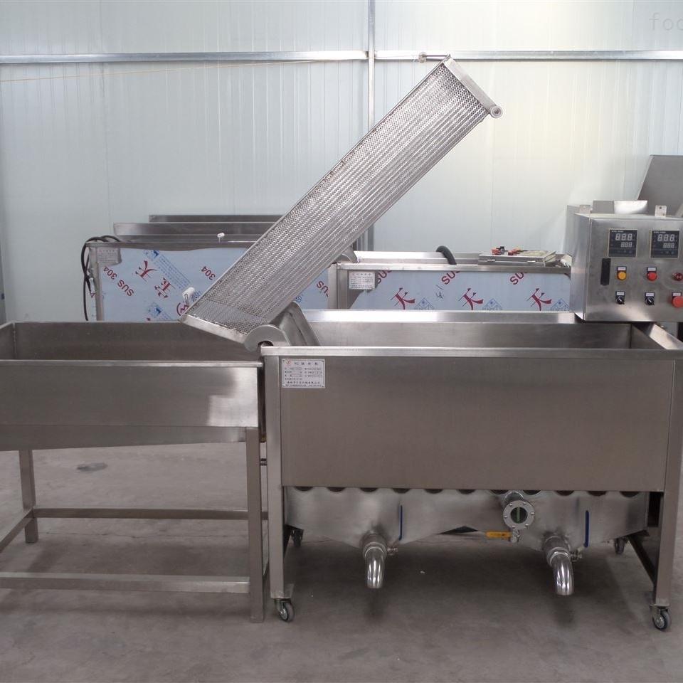 油炸锅商用长方形自动出料