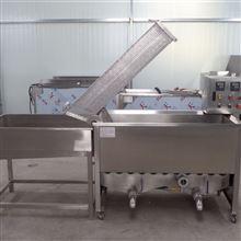 S油炸锅商用长方形自动出料