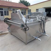 S商用不锈钢油炸锅长方形自动出料