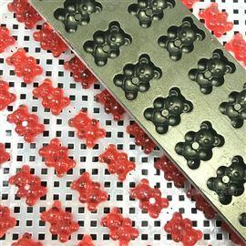 HQ-TG50上海合强 小熊软糖浇注成型机 实验室糖果机