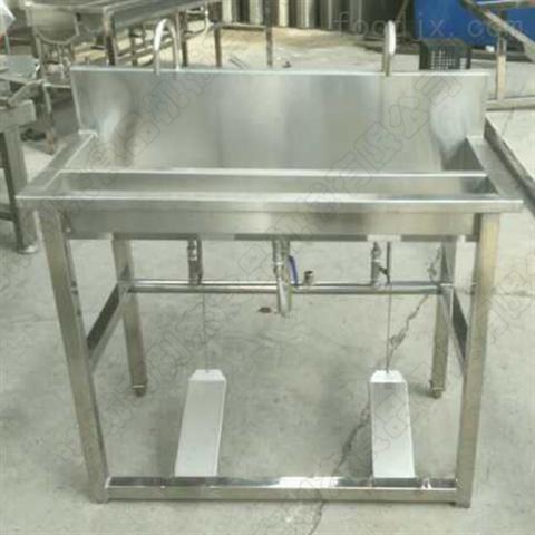 供应不锈钢多人洗手槽 双水位洗手设备