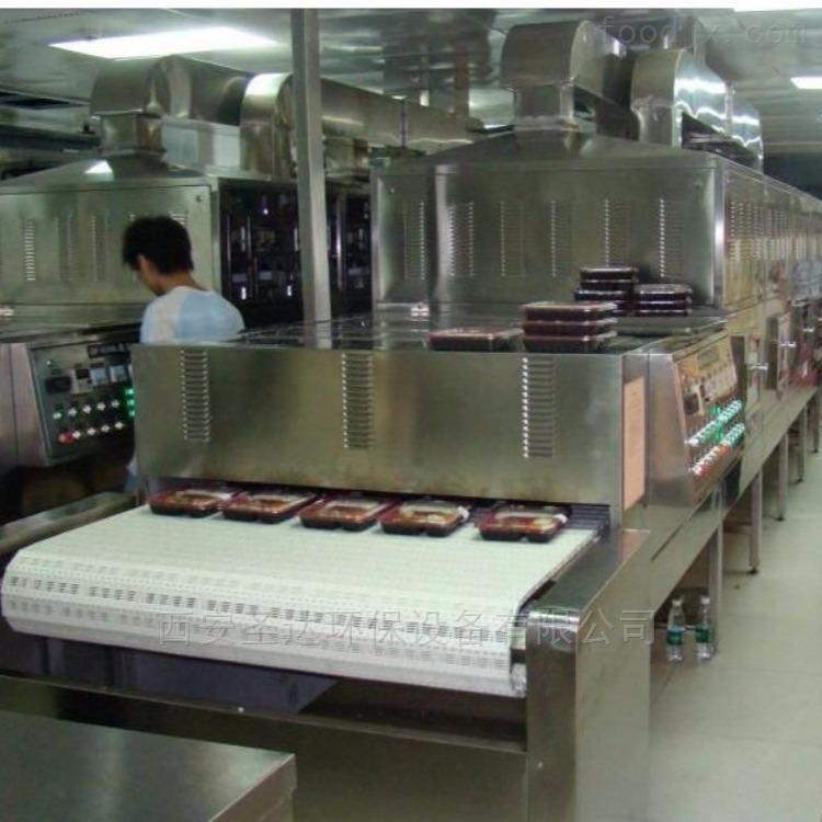 郑州微波加热设备盒饭快餐加热机