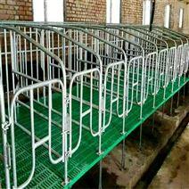 豬用自動料線 產床定位欄設備 限位欄