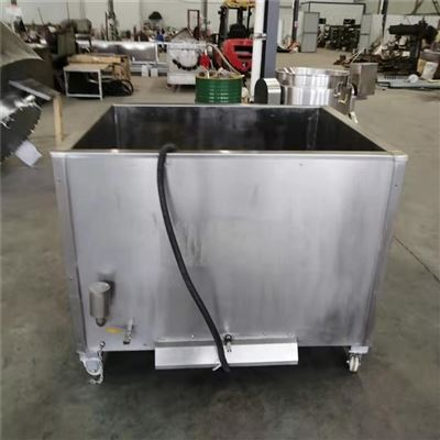 专做不锈钢方形带吊筐自动出料蒸煮锅批发