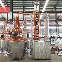 200L多功能蒸馏设备威士忌蒸馏金酒酿酒设备