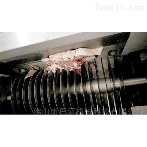 可切鸡鸭鹅的机器切块机
