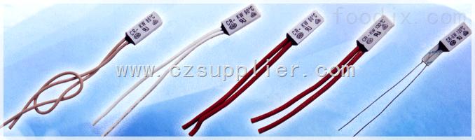 PTC电加热器塑封热保护器,水泵电机塑封热保护器