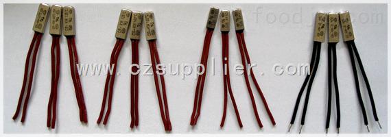 空调风扇电机铁壳热保护器,风机盘管电机铁壳热保护器,风幕电机铁壳热保护器