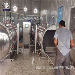 ZN-700玻璃瓶装山楂罐头高温杀菌锅