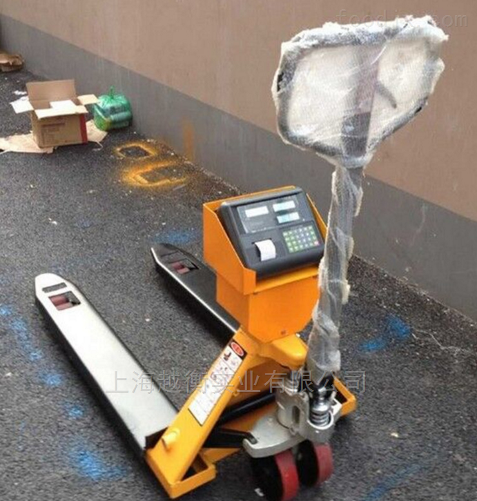 3t液压叉车电子秤 3吨带打印电子称重搬运车