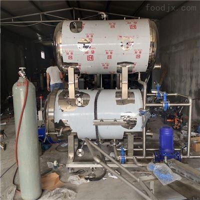 700*1200豆腐高温高压杀菌锅鸭血定型杀菌设备