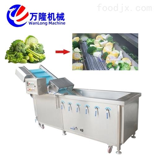 流水线作业菠萝清洗机 洗菜机型号均可定制