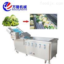 万隆牌多功能黄菜气泡清洗机 洗菜机高产量