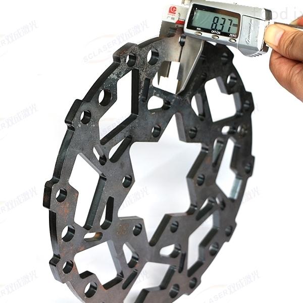 安徽鋼材廠家3000W激光切割機銅板切割金屬
