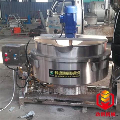 电加热导热油可倾式肉制品蒸煮夹层锅