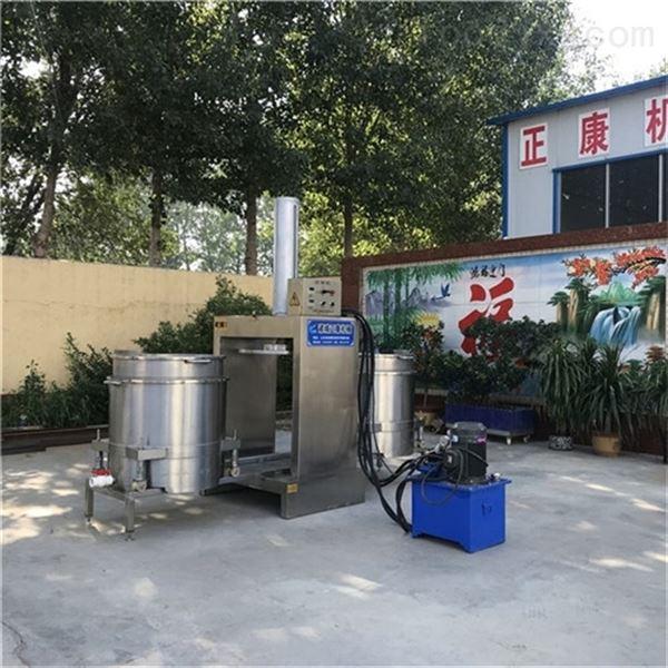 大型果蔬榨汁酱腌菜脱水液压压榨机