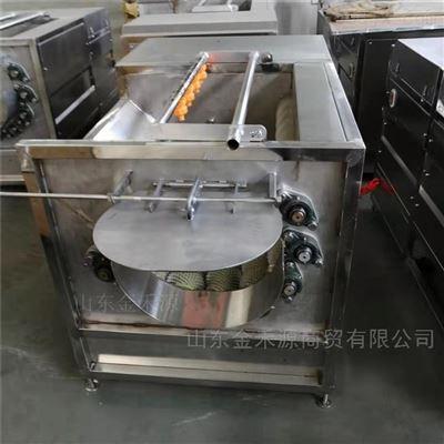JHY1200多功能蔬菜毛辊清洗去皮机