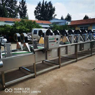 800型,1000型连续式蔬菜风干沥水设备