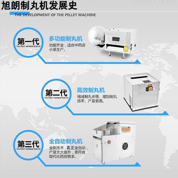 商用不锈钢自动制丸机姜丸搓丸机