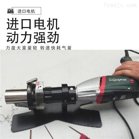 食品不锈钢管道自动平头机