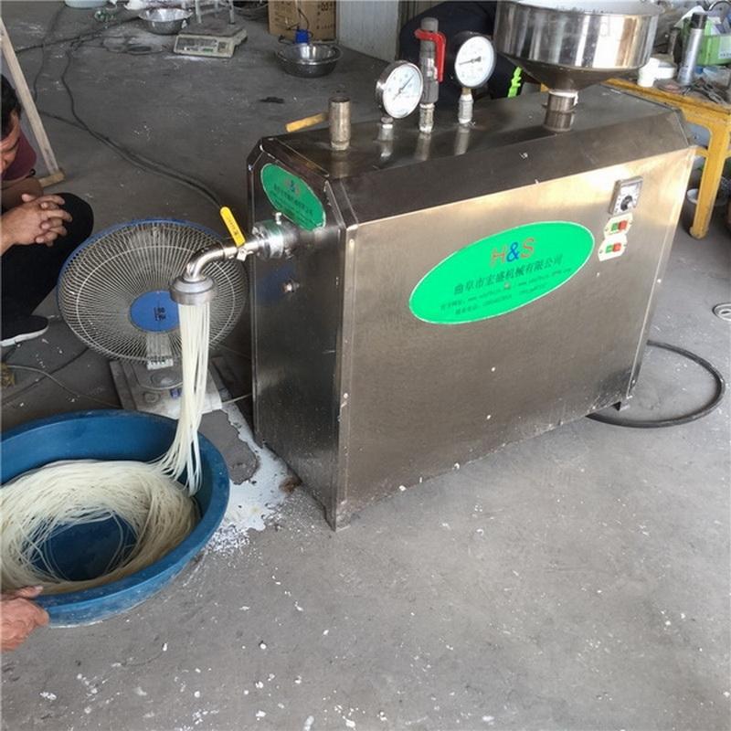 不锈钢米粉机操作视频
