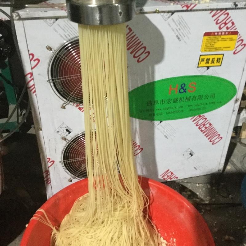 家用小型玉米面条机生产