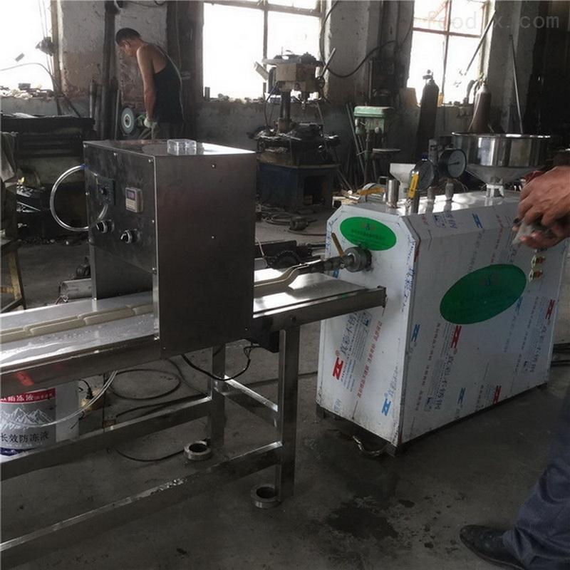 Q弹口感米果机生产视频