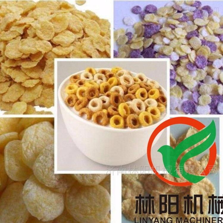 青稞麦片生产线