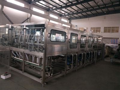 QGF全自动五加仑大桶水灌装机生产线