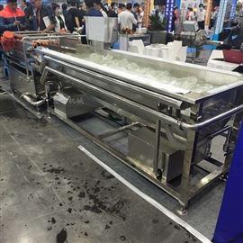 QX-1000不锈钢全自动果蔬加工清洗机