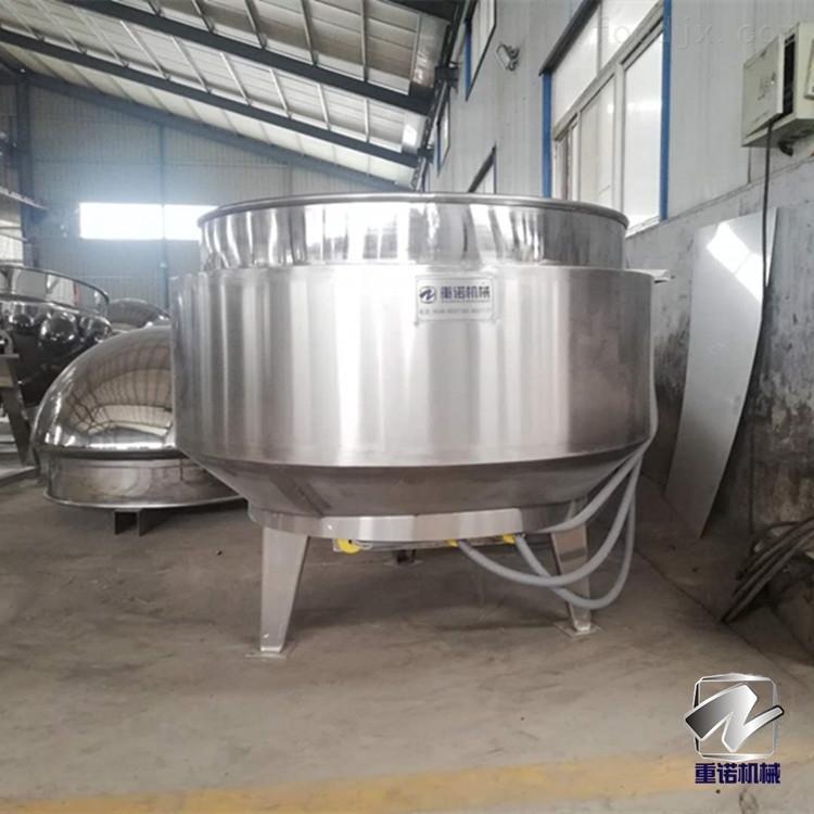 立式导热油夹层锅