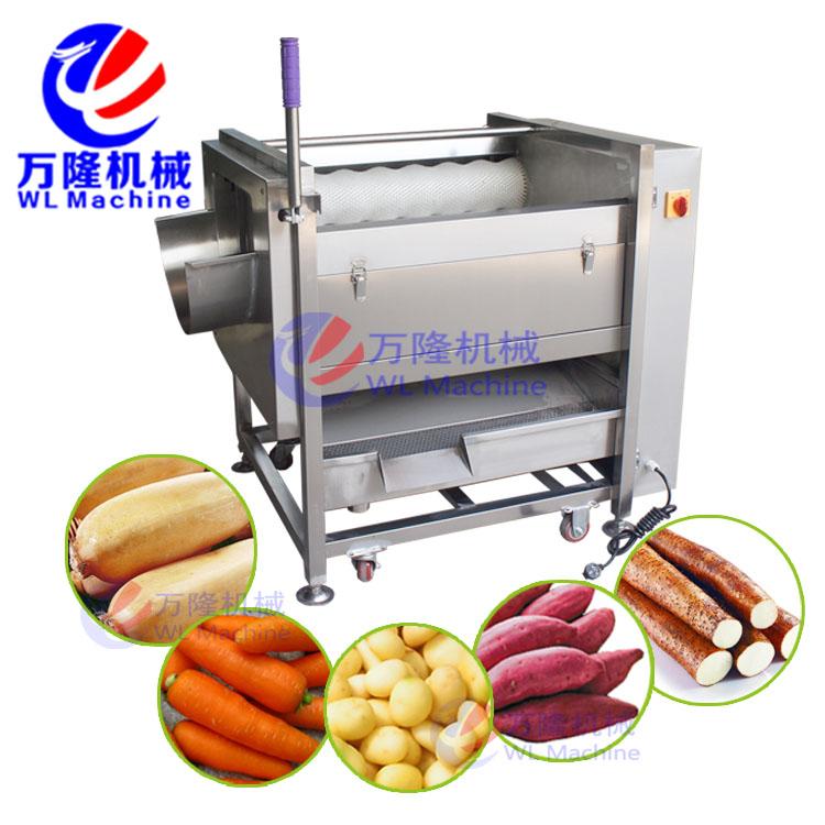 紅薯去皮機 蘿卜清洗機毛刷輥 紅薯木薯山芋脫皮機