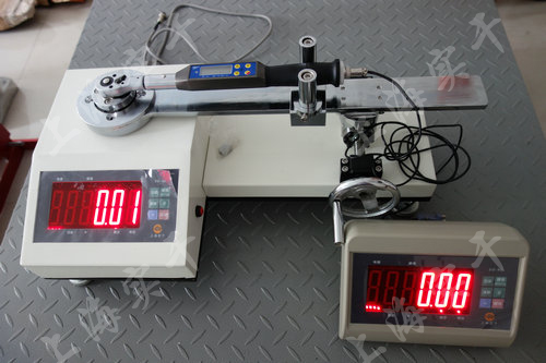 触屏液压扭力矩扳手校验仪图片