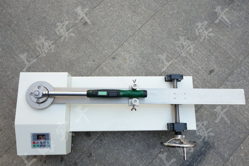 液压扭力矩扳手校验仪图片