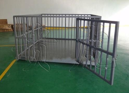 一吨畜牧秤,两吨畜牧电子称带围栏价格