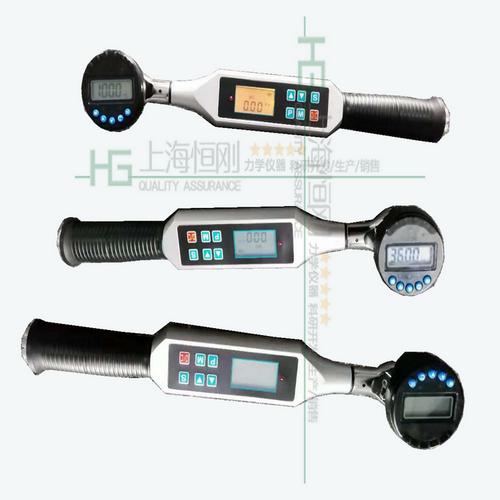 电子扭力扳手图片  可换角度仪