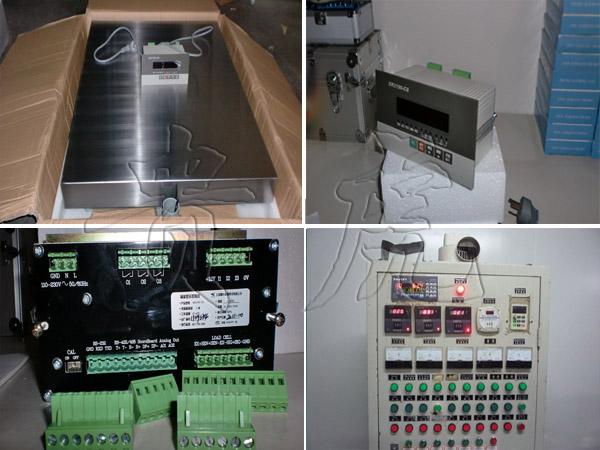 自动控制加料电子秤,60公斤台秤可切断阀门