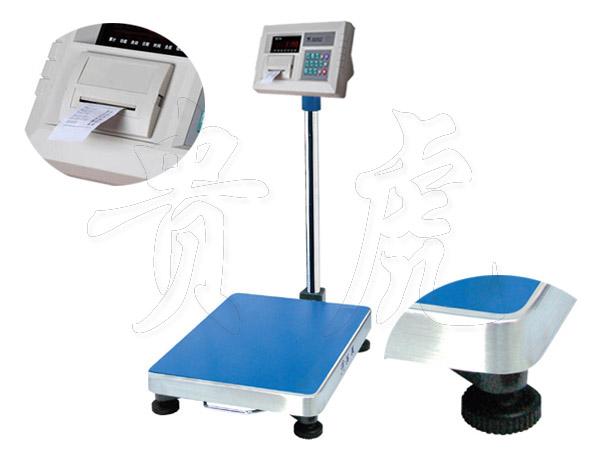 带打印电子台称,带打印电子称,上海打印落地秤